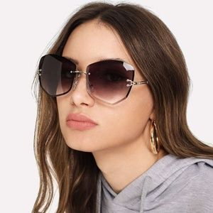 Purple Ombre Sunglasses